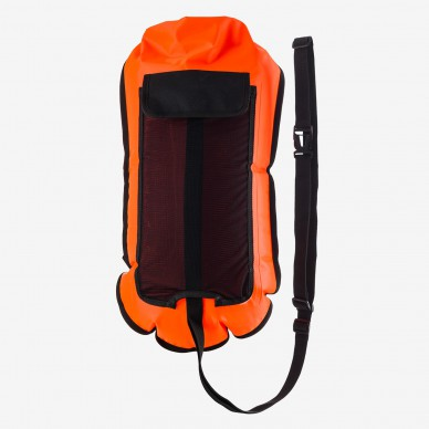 Orca Safety Buoy with Hydration Bladder Pocket plūduras