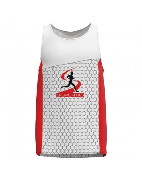 Bėgimo marškinėliai be rankovių performance (pavyzdys)