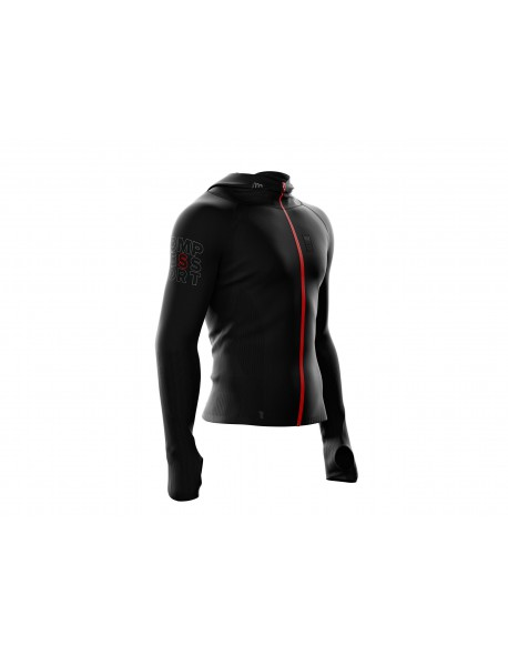 Compressport 3D Thermo Seamless Woodpulp Zip