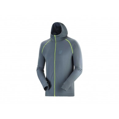COMPRESSPORT 3D Seamless Zip Hoodie Swim Bike Run 2020