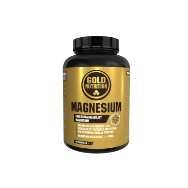 GOLD NUTRITION Magnesium vitaminai