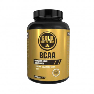 Gold Nutrition BCAA 60tab vitaminai