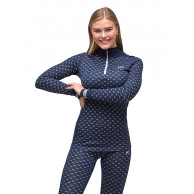 Kari Traa termo marškinėliai Lus L blue