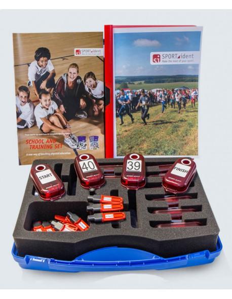 SportIdent komplektas mokykloms ir treniruotėms (9 kartos kortelės)