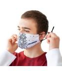 Daugkartinio naudojimo apsauginė veido kaukė pagal individualų dizainą