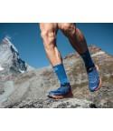 Compressport kojinės Mid Compression Socks, Blue Lolite, T1