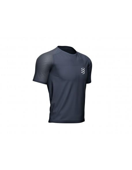 Compressport marškinėliai Performance SS Tshirt M, Grey, S