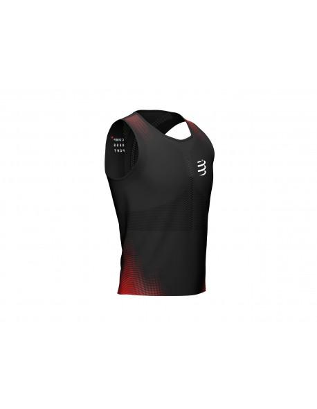 Compressport marškinėliai Pro Racing Singlet M, Black, S
