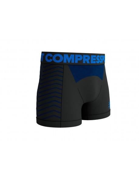 Compressport kelnaitės Seamless Boxer M, Black, S