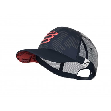 Compressport kepurė Trucker Cap, Eclipse/Coral, Uniq Size
