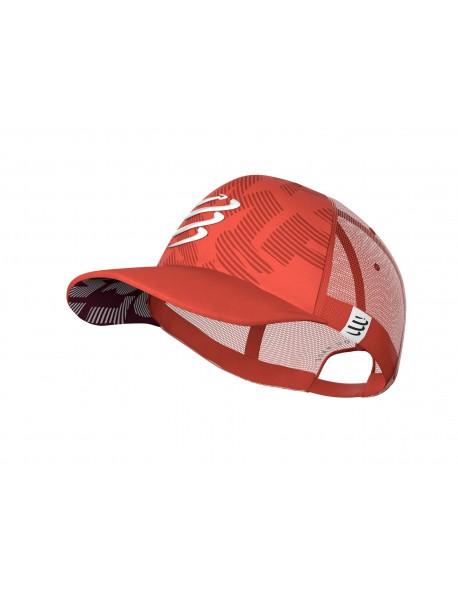 Compressport kepurė Trucker Cap, Eclipse/Coral, Uniq Size