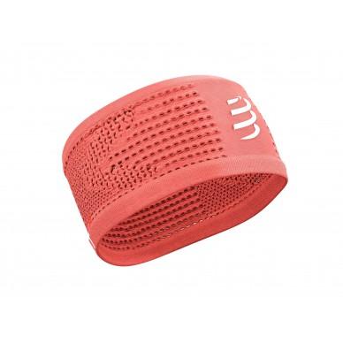 Compressport juosta Headband On/Off, Coral, Uniq Size