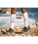 Compressport kojinės Full Socks Run, White, T1