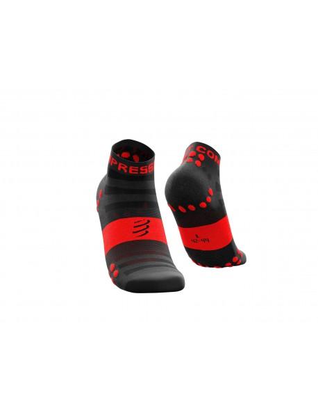Compressport kojinės Pro Racing v3.0 Ultralight Run Low, Black/Red, T1