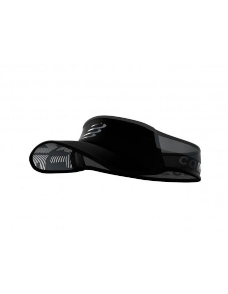 Compressport kepurė Visor Ultralight Flash, Black, Uniq Size