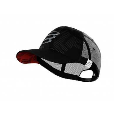Compressport kepurė Trucker Cap Flash, Black, Uniq Size