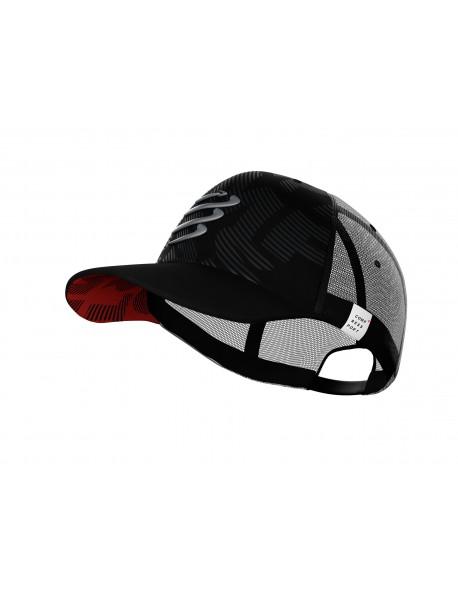 Compressport kepurė Trucker Cap Flash, Black, Uniq Size