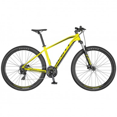 Scott dviratis Aspect 760 yellow/black XS 20