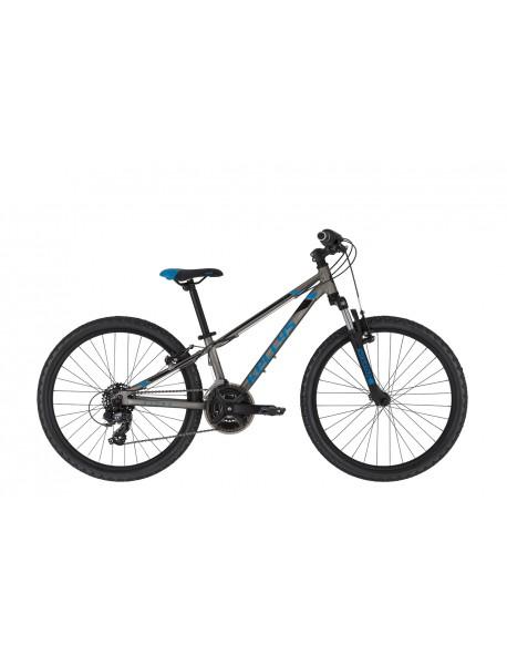 "Kellys dviratis Kiter 50 titanium blue 24"""