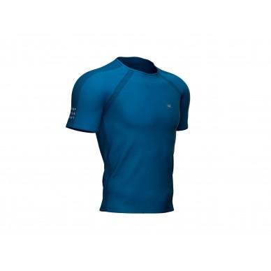 Compressport marškinėliai Training SS, Red Clay, S