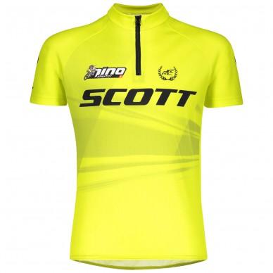 SCOTT marškinėliai Jr RC Pro 140 black/yellow