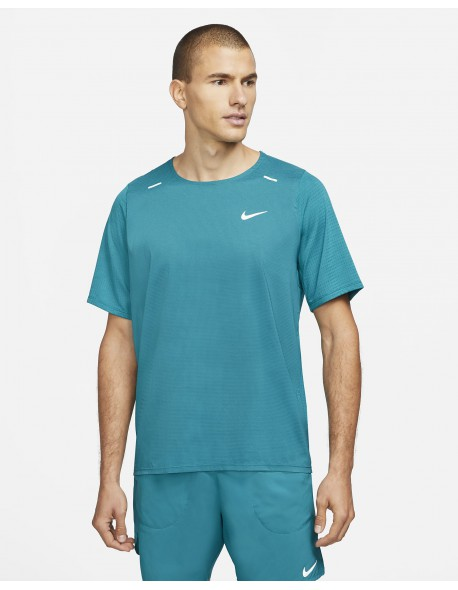 Nike marškinėliai Breath Rise 365 M-S blue