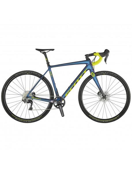 Scott dviratis Addict CX RC XL58 blue/yellow