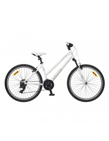 "Classic dviratis Lady sport 30 26"" S white 21"