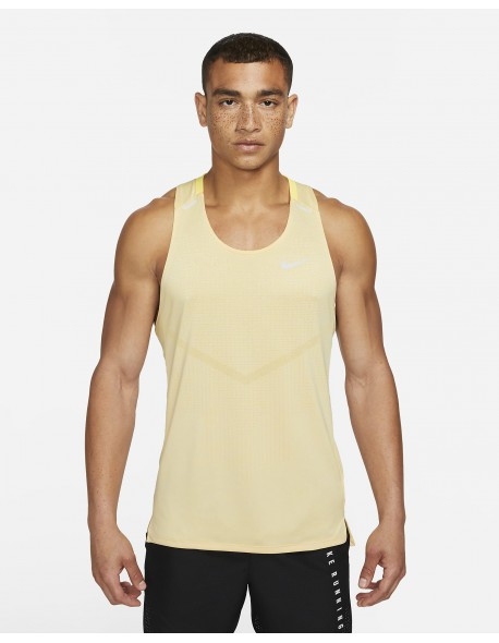Nike marškinėliai Techknit Ultra Tank M-S yellow