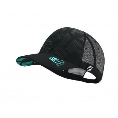 Compressport Trucker cap Black edition 2021 kepurė