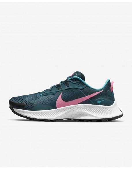 Nike batai Pegasus Trail 3 W-38 dark teal green/pink glow