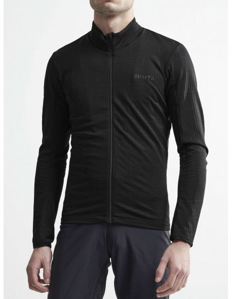Craft dviratininko marškinėliai Ideal Thermal Jersey  M-S black