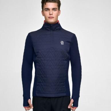 Dahlie megztinis Half Zip Comfy M-L evening blue