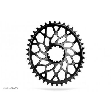 ABSOLUTE BLACK Oval Sram CX 36T priekinė dviračio žvaigždė