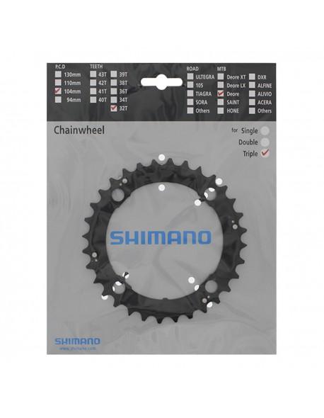 Shimano 32T Alivio FC-M480 Black