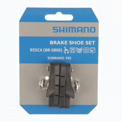 SHIMANO stabdžių kaladėlės R55C4 105 BR-5800 Black