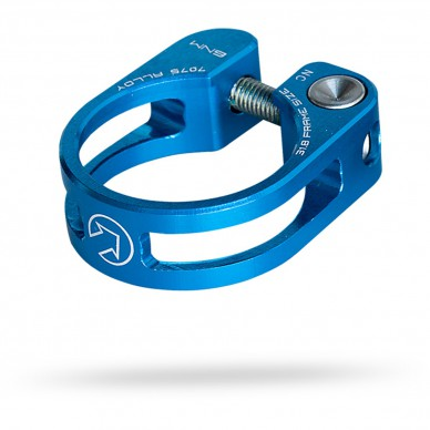 PRO balnelio spaustukas Performance Blue 31.8mm