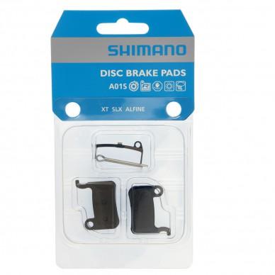 SHIMANO stabdžių kaladėlės Resin A01S Incl Spring/Split