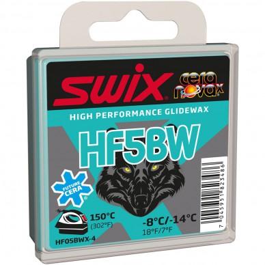 SWIX parafinas HF5BW BlackWolf