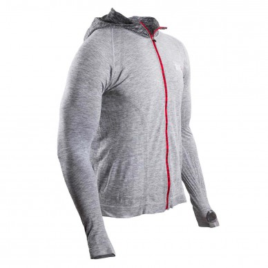 COMPRESSPORT3D Thermo Seamless Zip Hoodie Swim Bike Run