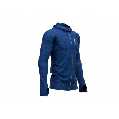 COMPRESSPORT 3D Thermo Seamless Hoodie Mont Blanc M viršus
