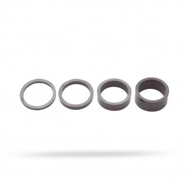 PRO vairo iškyšos tarpinė UD Carbon Set 3/5/10/15mm 1-1/8