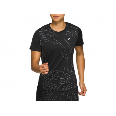 ASICS Night Track SS Top W