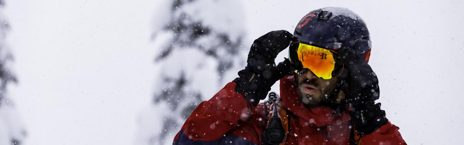 Kalnų slidinėjimo šalmai